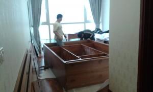 Thiết kế và thi công nội thất chung cư nhà anh Dũng