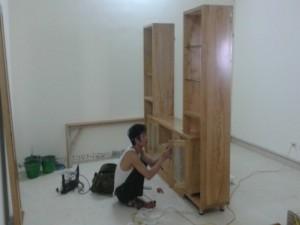 Thiết kế và thi công đồ gỗ nhà anh Thái
