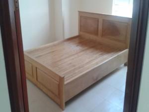 Giường ngủ gỗ tự nhiên đẹp GN01