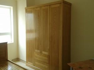 Tủ áo gỗ tự nhiên TA01