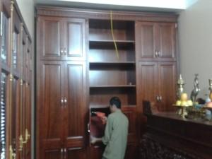 Thiết kế và thi công đồ gỗ nội thất nhà anh Từ