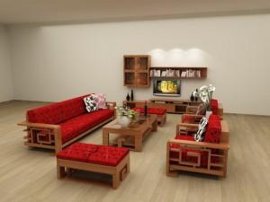 SoFa gỗ phòng khách BG01