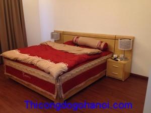 Giường ngủ đẹp gỗ Veneer GN08