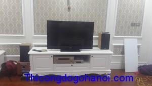Kệ tivi phong cách tân cổ điển KTV08