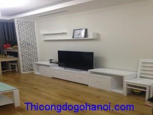 Thiết kế và thi công nội thất chung cư nhà anh Liêm