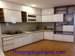 Tủ bếp gỗ công nghiệp TB08