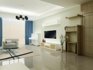 Thiết kế nội thất chung cư nhà anh Hùng