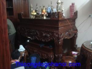 Phòng thờ gỗ gụ PT04