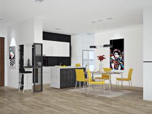 Thiết kế nội thất chung cư nhà chị Chi