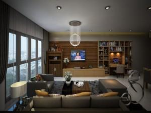 Thiết kế nội thất chung cư nhà chị Huyền