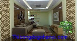 Thiết kế nội thất nhà anh Dũng