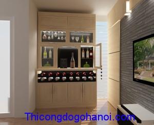 Tủ rượu đẹp phòng khách TR03