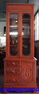 Tủ rượu gỗ tự nhiên phòng cách cổ điển TR01