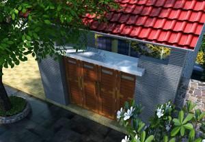 Thiết kế nội thất nhà anh Bính