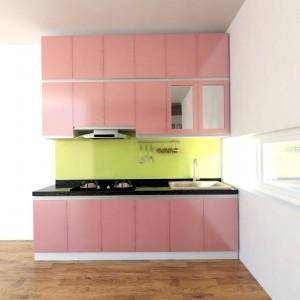 Tủ bếp cao kịch trần TB03