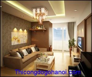 Thiết kế nội thất chung cư nhà anh Hoàn