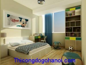 Phòng ngủ cho bé trai PNTE03