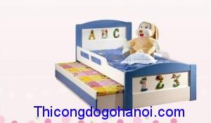 Giường ngủ cho bé gái GNTE03