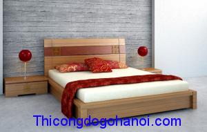 Giường ngủ đẹp cho phòng ông bà GN13