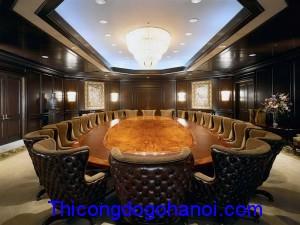 Mẫu nội thất phòng họp lớn