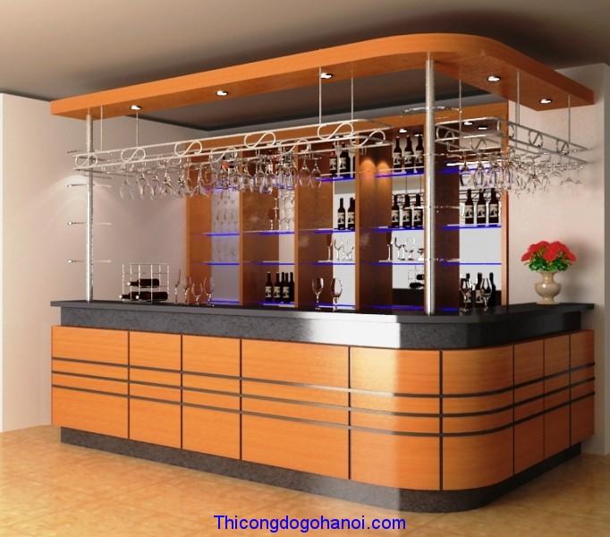 Quầy bar và tủ rượu đẹp