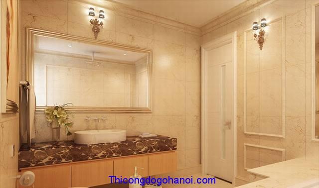 Phòng tắm ốp đá