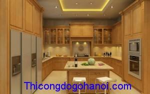 Tủ bếp cao cấp chữ U TB10