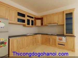 Tủ bếp đẹp TB09