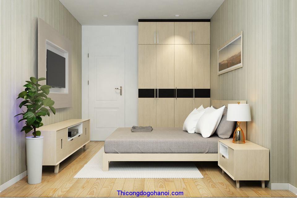 nội thất hiện đại gỗ công nghiệp