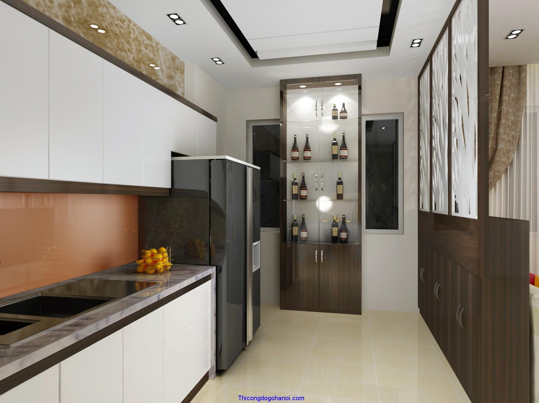 tủ bếp cao cấp
