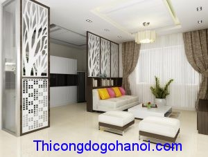 Thiết kế và thi công nội thất nhà anh Hưng