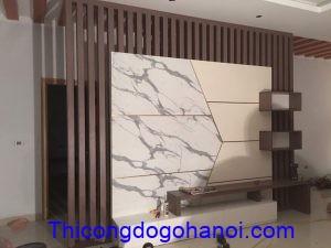 Thiết kế và thi công nội thất nhà chú Bình