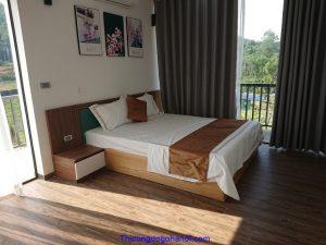 Thi công nội thất Resort Sunny Hòa Bình