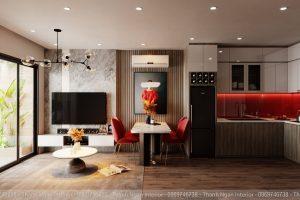 Thiết kế căn hộ 1+1 cá tính dành cho gia đình có 2 con nhỏ tại Vinhomes Smart City