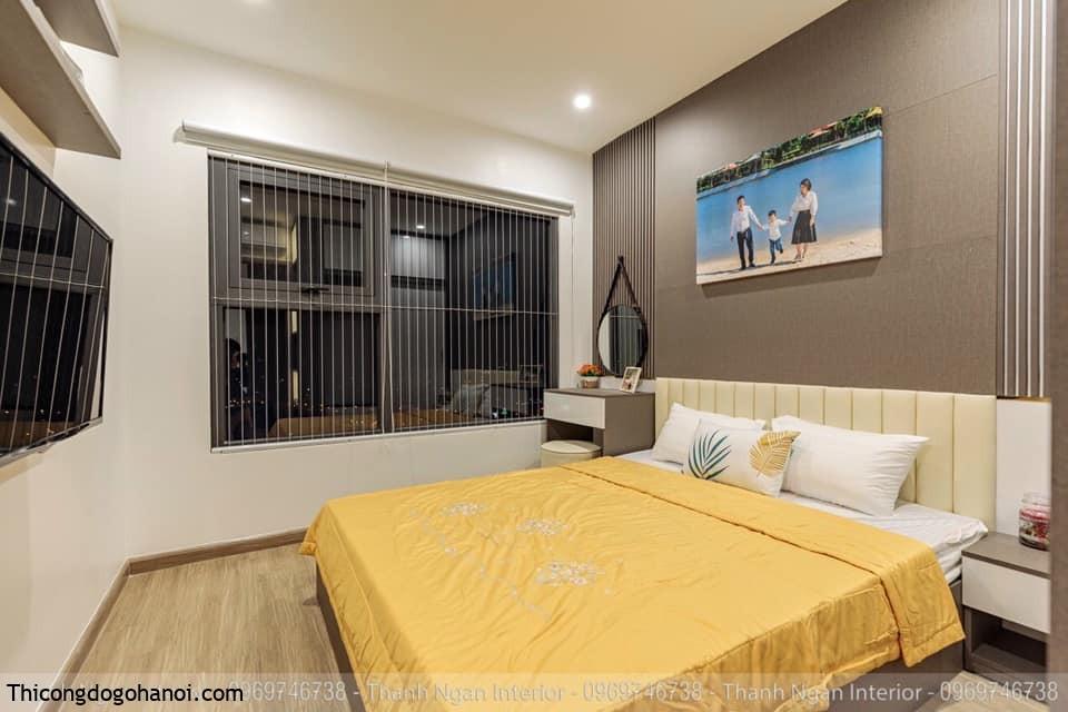 Thiết kế phong ngủ chung cư
