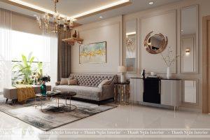 Thiết kế cải tạo căn hộ 3 ngủ DT 93,4m2 căn góc tòa S401 Vinhomes Smart City Tây Mỗ