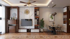 Thiết kế căn hộ tại chung cư HPC phong cách hiện đại