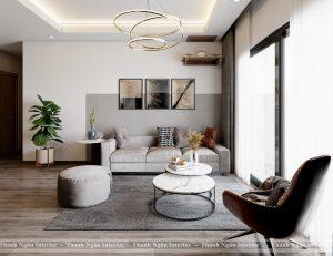 Thiết kế căn hộ 2 Ngủ điển hình các tòa The Terra An Hưng